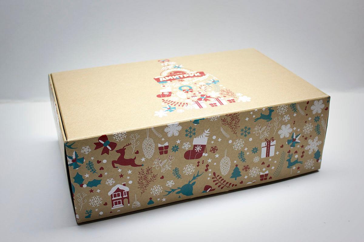 Нанесение картинки на коробку